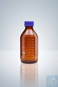 2Artículos como: Frasco de lab., GL 45, vidrio ámbar, 1000 ml, altura 225 mm Frasco de...