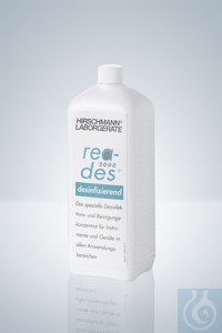 Reiniger rea-des® 2000, 1 l Flasche Reiniger rea-des® 2000, 1 l Flasche. Flüssiges Reinigungs-...