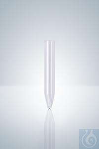Centrifuge tubes, ungraduated, Vl. 10 ml, Ø 16 mm, L 100 mm Centrifuge tubes, ungraduated, short...