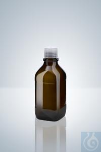 Frasco de vidrio ámbar, 500 ml, para opus®, ceramus® & solarus® Frasco de...