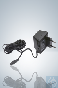 Power supply 230 Volt (EU), for pipetus® akku, aspirette® Power supply, 230...