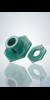 Kunststofffuß inkl. Schutzring, für Messzylinder ohne Fuß, 10 ml Kunststofffuß inkl. Schutzring,...