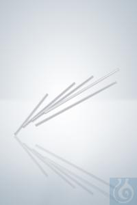 Kapillarröhrchen, L 100 mm, AD 2,35 mm, ID 1,55 mm Kapillarröhrchen, Länge 100 mm,...