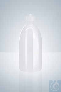 Spare bottles, PE, 1000 ml, for Schilling burettes 15 - 50 ml Spare bottles, PE, 1000 ml, for...