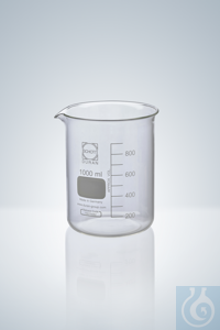 15Proizvod sličan kao: Beakers DURAN®, low form, white grad.,  800 ml, H 135 mm, graduation a. spout...