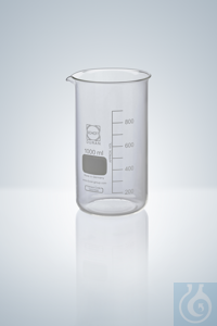 10Proizvod sličan kao: Beakers DURAN®, tall form, white grad.,  50 ml, H 70 mm, graduation a. spout...