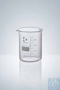 7Articles like: Beakers DURAN®, low form, white grad.,  150 ml, Super Duty, with grad. and...