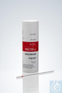 ringcaps®, 100 + 200 µl ringcaps®, 100 + 200 µl, disposable capillary...
