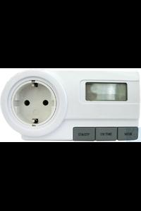 Leistungs-Messgerät PowMet230 230 V, 50-60 Hz, Schuko-Stecker Europa...