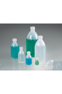 Narrow-necked bio-bottles PE, Green LDPE, 20 ml The narrow-necked bio-bottles are manufactured...
