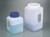 Weithalsbehälter mit Griff, HDPE, 2300 ml, m.V. Behälter mit 2,3 l und 4,4 l Inhalt und besonders...