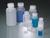 Weithalsflasche, LDPE transp., rund, 50 ml, m.V. Stabile Flasche mit weiter Halsöffnung und...