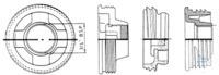 2Artikelen als: Adapter TriSure 2'' Adapter voor kogelkraan