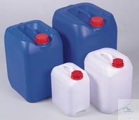 Jerrycan, HDPE blue, UN, DIN60, 20 l, w/ cap Canister for storage or transport. Canister with UN...