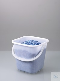 Four-sided bucket, PE transparent, w/ spout, 14 l Bucket for transporting bulky goods. Saves...