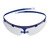 Schutzbrille Ultraleicht, 18 g, flexibel, blau Ultraleichtbauweise mit nur 18 Gramm...