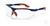 Schutzbrille Sport, blau/orange Superleichte Schutzbrille im sportlichen Design, höchster...