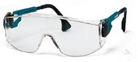 Safety goggles Astrolite, black/blue Lightweight, unrestricted lateral sight, wraparound side...