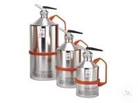 Safety can V4A, dosage spout, relief valve, 1 l For safe metering and handling of smaller amounts...