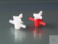 Two-way valve, PVDF, Ø 5-7 mm, NW 4 mm, white Two and three-way valves are used for transfer of...