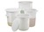 Tub round, HDPE, strong edge, carrying handles,40l Tub for every purpose, with strong edge and...