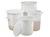 2Artikelen als: Deksel voor ronde ton 370 mm Deze deksels passen op ronde vaten in HDPE, met...