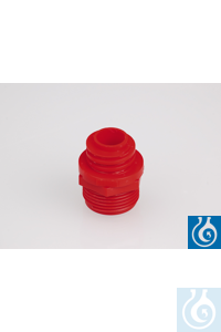 """Adapter 3/4"""" - Hünersdorff, rood PP Adapter 3/4"""" - Hünersdorff, rood PP"""