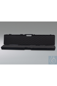 Transport case, outer dim. LxWxH 123x25x11 cm Transport case, outer dim. LxWxH 123x25x11 cm