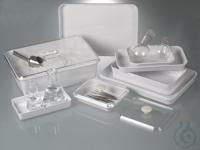 Instrumentenschale, Melamin weiß, 1800 ml Schalen für vielseitige Einsatzmöglichkeiten: in Labor,...