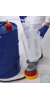 OTAL® Einweg-Fußpumpe, PE Rohr-Ø 12mm OTAL-Pumpe mit Einweg-Förderrohren aus PE, für den...