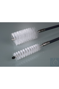Cleaning brush, length 80 cm, Ø 25 mm, PVC/V2A Cleaning brushes for thorough cleaning.