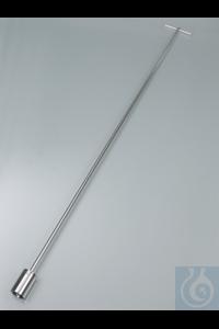 IceSampler inox V4A 1050 mm Roestvrij staal V4A (1.4404), elektrolytisch...
