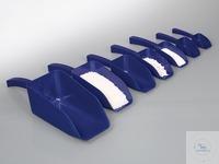 Detektierbare Schaufel, blau, PS, steril, 500 ml Die detektierbaren Schaufeln SteriPlast® aus...
