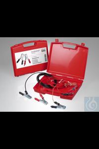 Antistatik-Set im Koffer (3 Kupferkabel m. Zangen) Beim Abfüllen von brennbaren Flüssigkeiten...