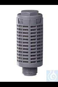 "AirJet Mini geluiddemper G 1/8"" AirJet Mini geluiddemper G 1/8"""