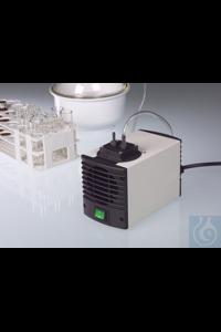 Membran-Vakuumpumpe/Kompressor AirJet Mini, EPDM Die einköpfige Membran-Vakuumpumpe AirJet Mini...