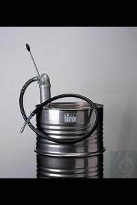 Lever pump aluminium, electr. conduct., M64x4 /R2