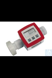 Durchflusszähler, PVDF/Hastelloy C4/FKM, G 1 1/4