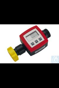 Durchflusszähler, PP/Hastelloy C4/FKM, G 1 1/4