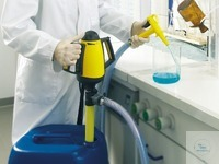 Laboratory pump mains operated, PP/PVC, 70 cm Laboratory pump, with mains operation immersion...