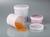 Dose transparent, mit Schraubdeckel, PP, 250 ml Inhalt gut erkennbar durch die transparente Wand....