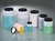Wide-necked box round, HDPE, 100ml, Ø 48 mm, w/cap HDPE, transparent, shatterproof  Screw lid...