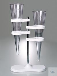 Entonnoirs à sédimentation, Imhoff,SAN translucide Entonnoirs à sédimentation, entonnoirs Imhoff