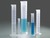 Graduated cylinder, PP, blue scale, categ. B, 50ml Measuring cylinder, tall shape, according to...