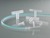 T-Schlauchverbinder, PVDF, f. Ø 5-7mm, zylindrisch T-Schlauchtüllen zum Verbinden von Schläuchen,...