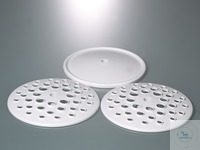 Replacement set for pipette stand,plates/drip pan Consisting of two perforated plates and one...