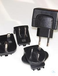 Voedingsadapter incl. stekkers voor Accu/EnergyOne Adapter voor netvoeding...