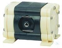 Double-diaphragm pump oil-free, PP/PTFE, 16 l/min