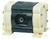 Doppelmembran-Pumpe Ölfrei, PP/PTFE, 16 l/min Druckluftbetriebene Doppelmembranpumpe zur...