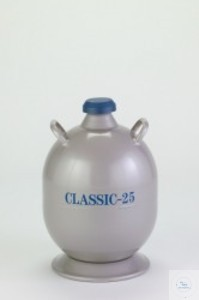 Liquid nitrogen storage container, Classic-25 Liquid nitrogen storage...
